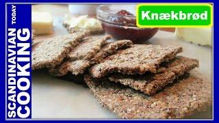 How To Make Homemade Delicious Crispbread - Knækbrød
