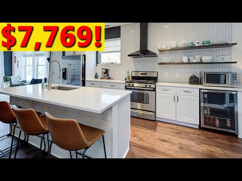 Kitchen Remodel – Major DIY Kitchen Renovation on a budget! (cost, before and after, etc)