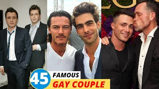 45 Real Gay Celebrity Couples in Hollywood (2020)