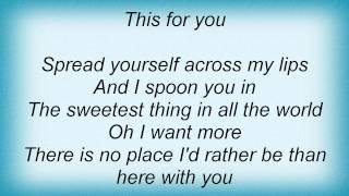 Dave Matthews Band - Belly Full Lyrics