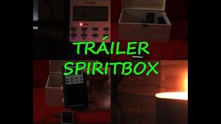 Algunas de mis psicofonías con la Ghostbox