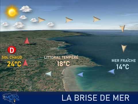 Illustration de l'actualité Les brises de mer modèrent l'élévation de la température sur nos littoraux