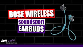 Bose SoundSport Wireless Earbuds