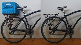 How To Add A Milk Crate To A Bicycle (Removable)