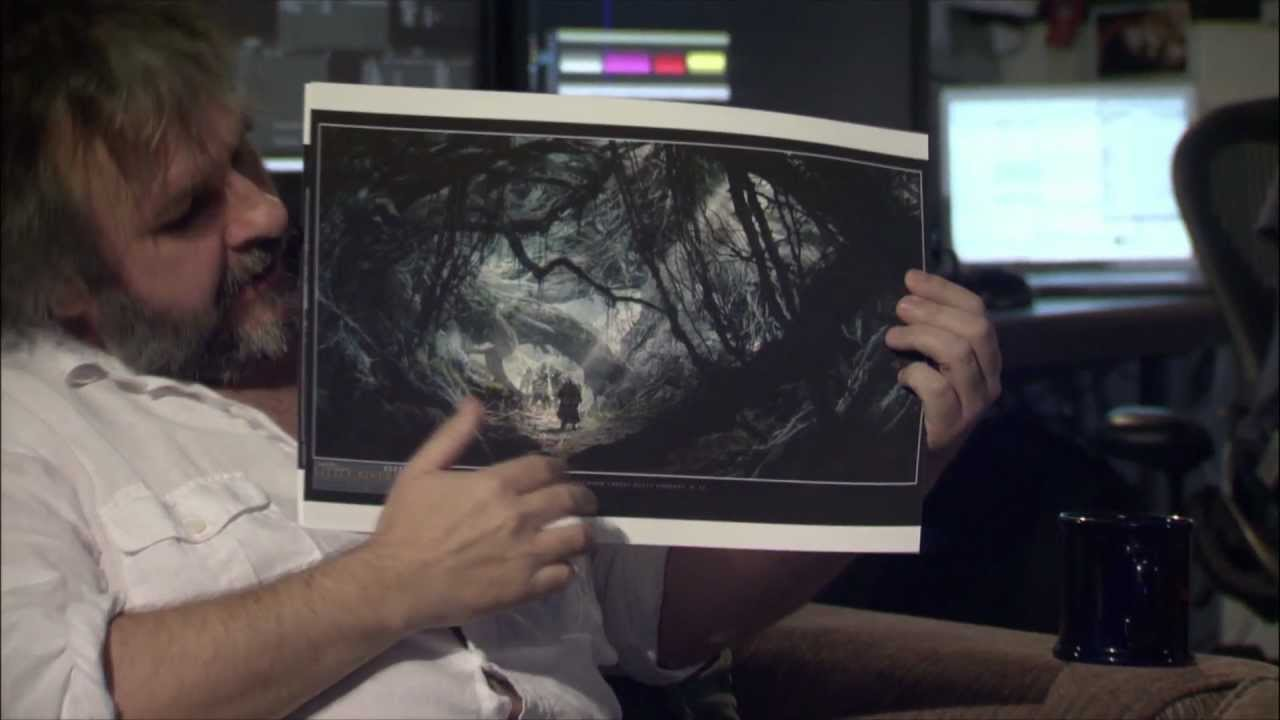 Peter Jackson Talks Smaug, Mirkwood And Stephen Colbert