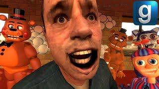 Gmod FNAF | Toy Freddy VS. Freddy, Candy, & BB!!!