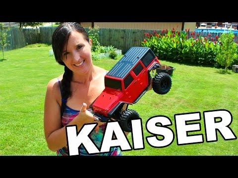 Thunder Tiger Kaiser XS Crawler - NEW RC Truck Unboxing - TheRcSaylors