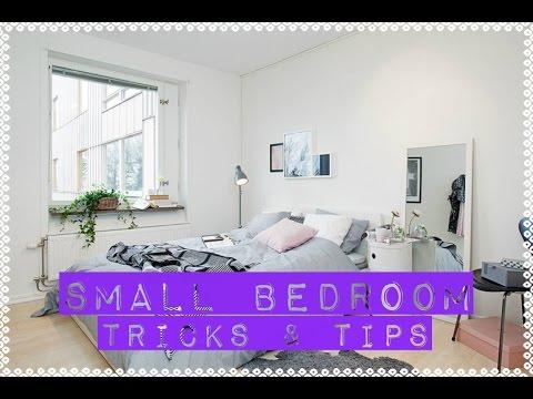How To Arrange a Small Bedroom | DIY Tricks & Tips | Tiny Bedroom Decor Ideas