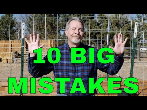 10 Common New Gardener Mistakes