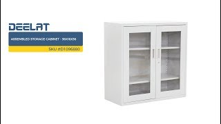 Assembled Storage Cabinet - 36x16x36     SKU #D1096880