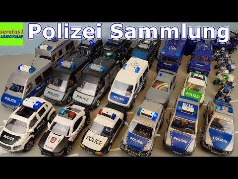 Playmobil Polizei SEK Fahrzeuge riesige Sammlung seratus1 unboxing