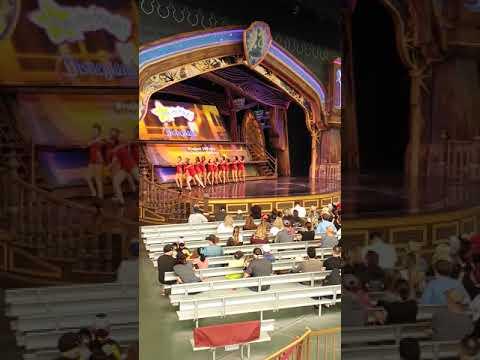 Disneyland main stage theater 2018