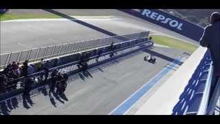 F1 2014 Jerez Pre-Season Testing - Day 1 Compilation