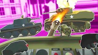 Driving a Tank in VR - Tanks VR HTC Vive