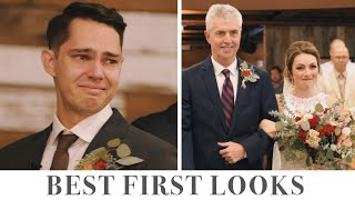 Emotional Groom Reactions! These First Looks Will Make You CRY!
