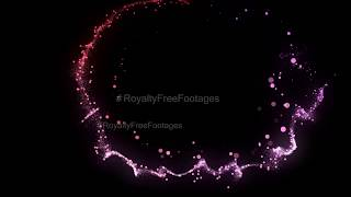 Free particle effect background | particles light leak | abstract background | Royalty Free Footages