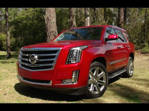 2015 Cadillac Escalade 0-60 MPH First Drive Review: Rebooting American Luxury