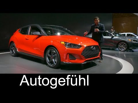 All-new Hyundai Veloster REVIEW 2nd generation 2019 - NAIAS 2018 - Autogefühl