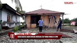 preview picture of video 'Angin Kencang Rusak Atap Rumah Warga di Luwu'