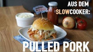 Langsam kocht besser: Pulled Pork aus dem Slowcooker