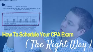Unboxing becker cpa review 2017 cpa guide tv ep 10 most how to schedule your cpa exam the right way cpa guide tv fandeluxe Image collections