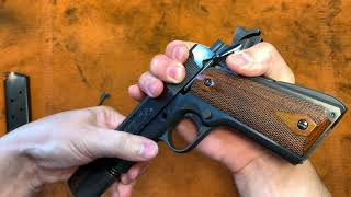 How to avoid the 1911 Idiot Scratch