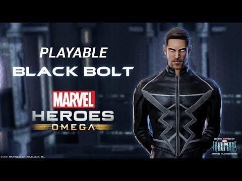 Playable Black Bolt Arrives in MHO