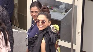 EXCLUSIVE : Deepika Padukone goes to L Oreal studio beach in Cannes