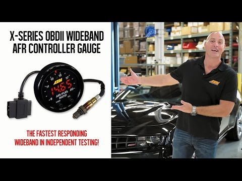 AEM X-Series OBDII Wideband Gauge Tested