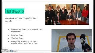 Question #5 Chief Legislator