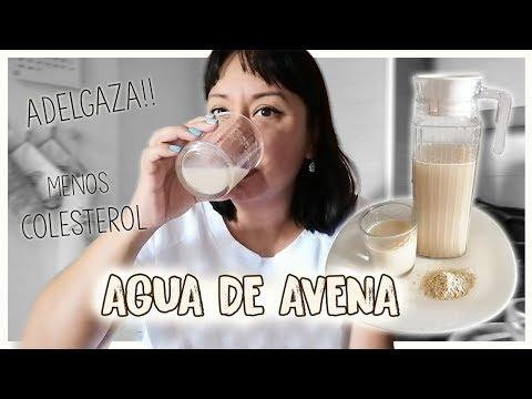 Receta Del Agua De Avena Que Te Ayudará a Disminuir El Colesterol