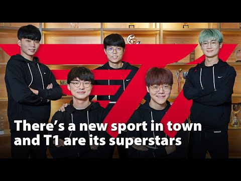 There's a new sport in town and T1 are its superstars