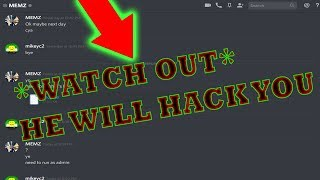 Exposing a SCAMMER on Discord that SENDS VIRUSES (WATCH OUT)