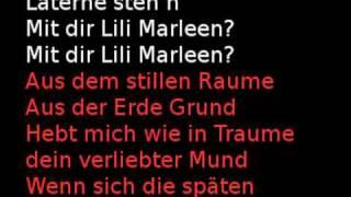 Lili Marleen - karaoke