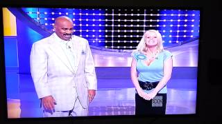 Crazy Woman on Family Feud