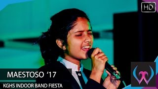 Maestoso '17 - KGHS Indoor Band Fiesta / English Song