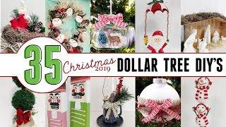 Dollar Tree Christmas 2019 | 35 Christmas DIYs