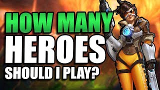 How many Heroes should I play? // Heroes of the Storm