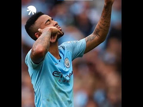 The reason behind Gabriel Jesus's celebration - Oh My Goal