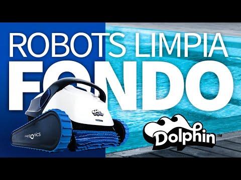 Como elegir el robot dolphin para tu piscina. Robots para piletas de fibra de vidrio o de hormigón