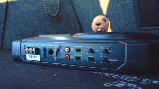 Collegamento Subwoofer amplificato sottosedile JBL BassPro SL