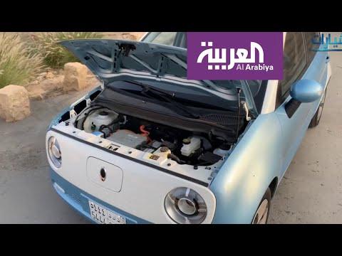 العرب اليوم - شاهد: سيارة كهربائية شحنها 4 ريال وتسير 351 كلم