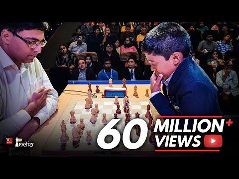 Rematch: Vishy Anand vs Praggnanandhaa   Tata Steel Chess India 2018