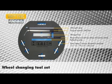 HEYTEC Wheel changing tool set
