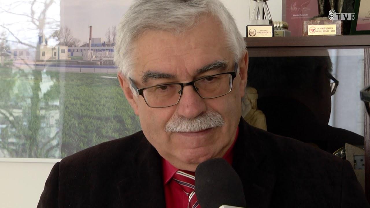Rozmowa z dyrektorem ZKM w Łasku oraz z burmistrzem Łasku
