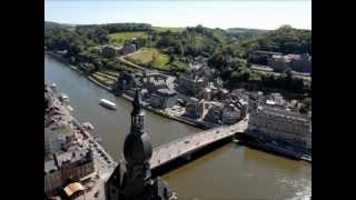 preview picture of video 'Dinant La ville et la Meuse'
