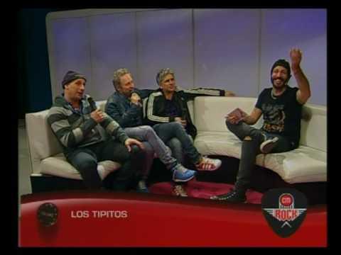 Los Tipitos video Entrevista CM Rock - Mayo 2016