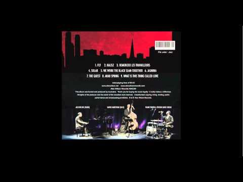 Alex Wilson Trio album OUT NOW