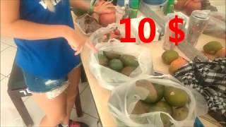 Сколько фруктов можно купить за 10$ ? Цены на фрукты в Египте, Хургада. Hurgada, Egypt