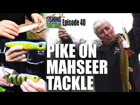 Catching Pike with Mahseer Tackle – Fishing Britain, episode 40